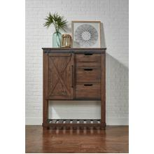 See Details - Sun Valley Barn Door Chest Rustic Timber