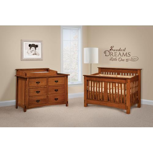 Amish Craftsman - McCoy Crib