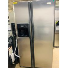 See Details - USED- 26 Cu. Ft. Side by Side Refrigerator   SXS36SS-U  SERIAL #52 -- CRUSH ICE ONLY--