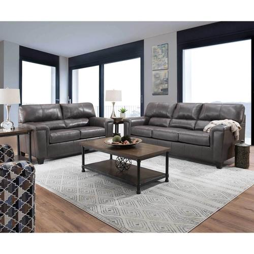 Leather Fog Sofa