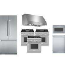 """Product Image - Thermador Package with 36"""" Professional Range and Built In French Door Refrigerator"""