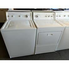 Refurbished Top Load Washer Dryer Set (manufacturer and models change daily, please call or visit our store to confirm what is currently available).  Prices vary based on condition, age, model, and features.