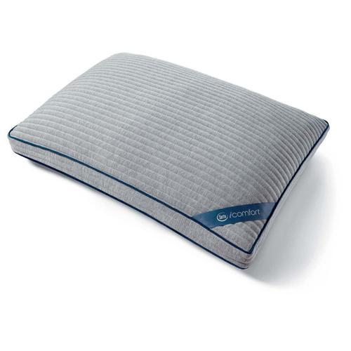 iComfort TempActiv Scrunch Pillow - Queen