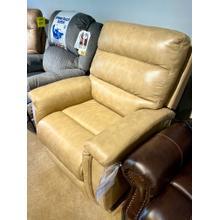 See Details - Bassett Power Leather Recliner
