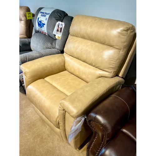 Bassett Furniture - Bassett Power Leather Recliner