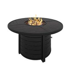 "Castle Island 48"" Round Fire Pit Table"