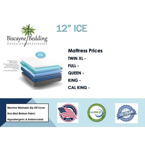 "Biscayne Bedding - 12"" Ice"