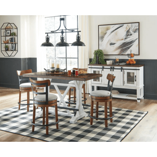 Valebeck 5pc Counter Height Dining Set