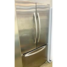 See Details - USED- 20 Cu. Ft. Counter-Depth French Door Refrigerator, Architect® Series II - Stainless Steel- FD3SS36-U SERIAL #41