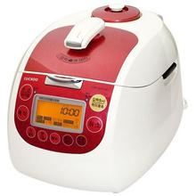 CUCKOO Pressure RICE COOKER | CRP-G1015F Ivory/Red (10 Cup)