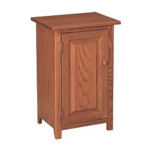 1 Door Shaker Nightstand