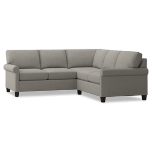 Spencer Small Sectional - Seamist Fabric