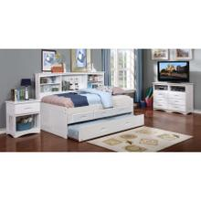 Discovery World Furniture White Twin Bookcase Daybed