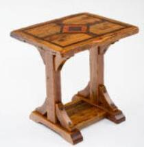 Mustang Canyon Timber Frame Side Table