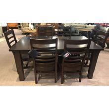 Gat Creek Samuel Table with Lorre Chairs (6 chairs)