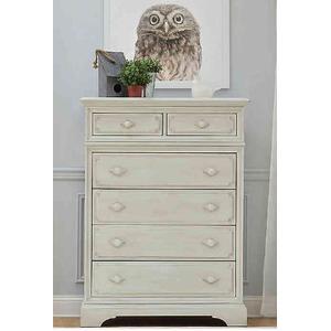 Munire Furniture - Amherst 6-Drawer Chest - Antique White