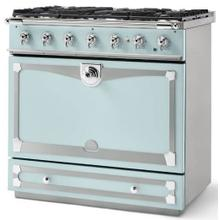 Roquefort Albertine 90 with Polished Chrome Accents