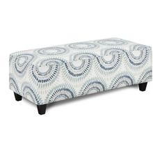 Fusion Rectangle Cocktail Ottoman