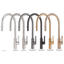 Galley Tap in PVD Brushed Gold Stainless Steel
