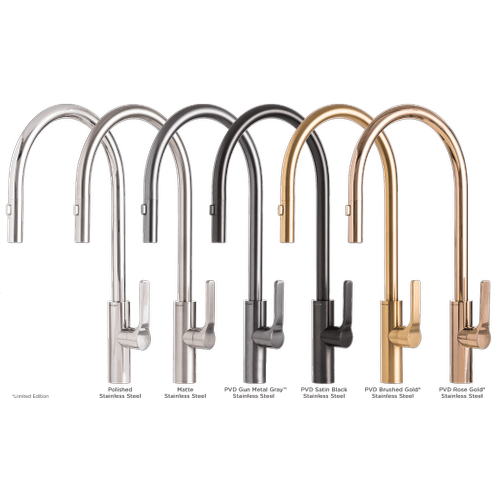 The Galley Tap - Galley Tap in PVD Brushed Gold Stainless Steel