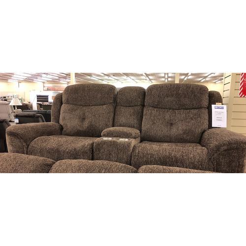 New Classic Furniture - HAVANA CONSOLE LOVESEAT W/PWR FR - Latte
