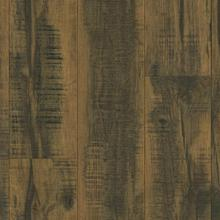 Architectural Remnants L3107 Laminate - Blackened Brown/Distressed Brown 7.59 in. Wide x 47.83 in. Long x 12 mm Thick, Low Gloss