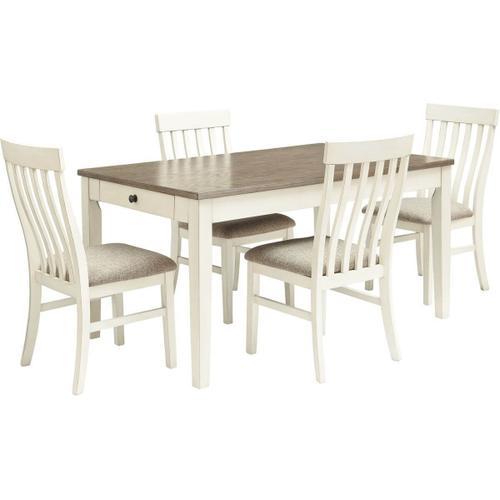 Bardilyn 5 Piece Dining Room Set