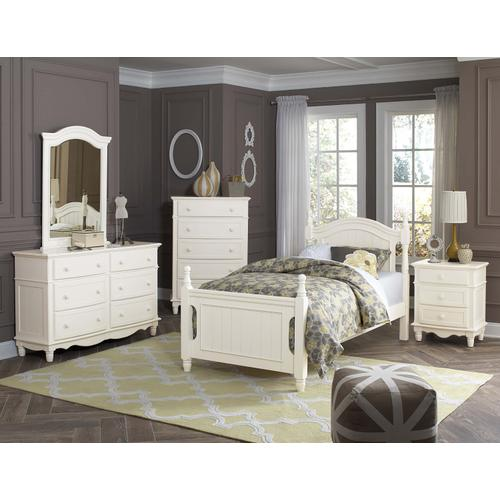 Clementine 4Pc Twin Bed Set