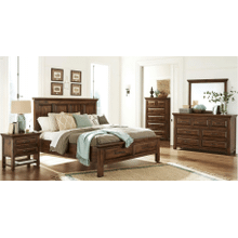 Hillcrest Queen Storage bed Bedroom Collection       (WARE-203-**)