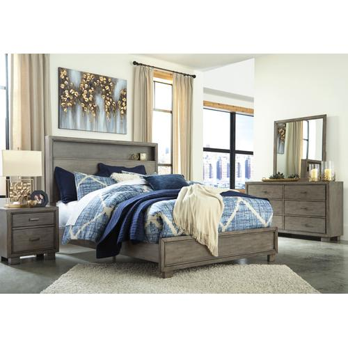 Arnett - Gray 6 Piece Bedroom Set