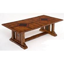 Mustang Canyon Timber Frame Extension Table