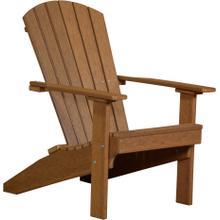 Folding Adirondack Chair Premium Antique Mahogany