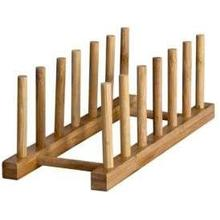Bamboo 6 Dish Display Stand
