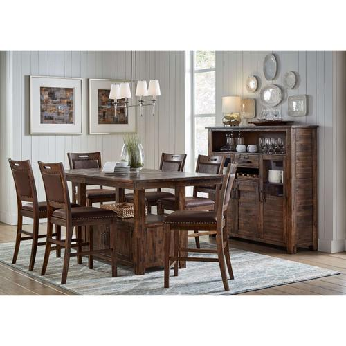 7pc Dining Set - Cannon Valley Counter Height