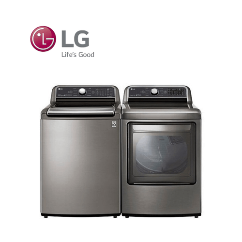View Product - LG Top Load Agitator Laundry Pair Package