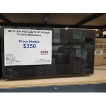 """See Details - GE 24"""" Built In Microwave PEB7227SLSS (FLOOR MODEL)"""