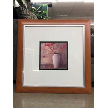 Framed Wall Art - Red Blossom
