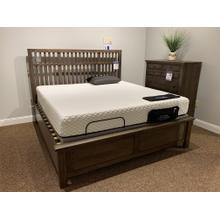 ALE 106 Solid Oak King Slat Bed