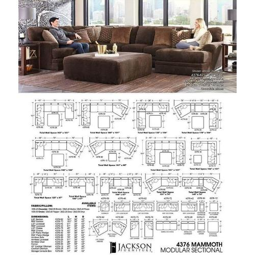 Gallery - Mammoth Sectional