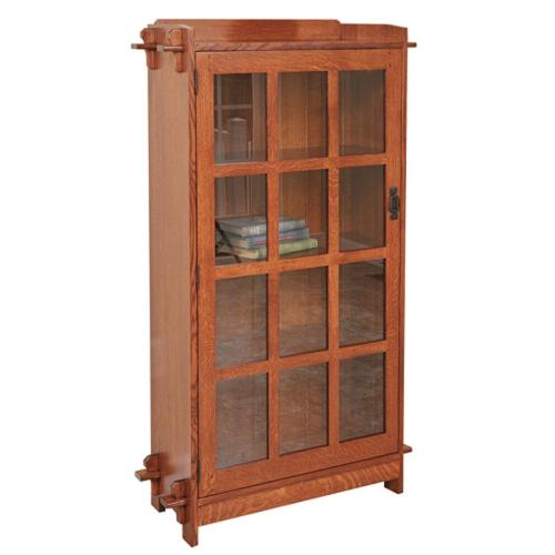 1 Door Bookcase