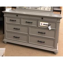 See Details - Slater 9-Drawer Dresser - Gray
