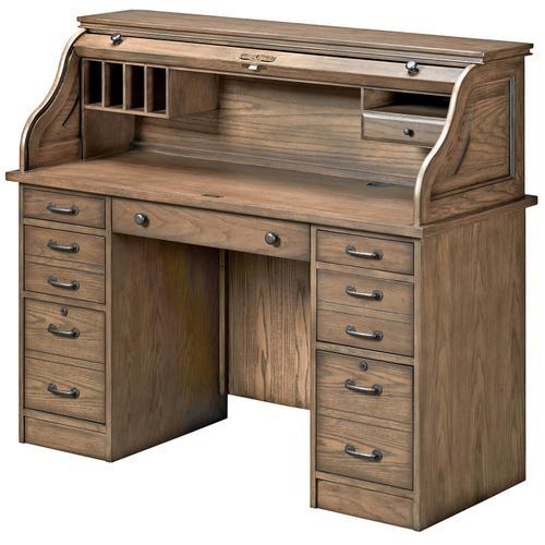 Rustic Roll-Top Desk