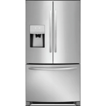 See Details - Frigidaire 26.8-cu ft French Door Refrigerator with Ice Maker (Easycare Stainless Steel) ENERGY STAR
