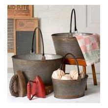 See Details - Set of 3 Round Buckets