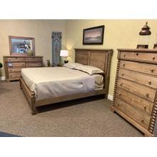 King Solid Birch & Maple Bedroom Set