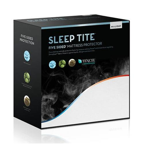 FIVE 5IDED MATTRESS PROTECTOR WITH TENCEL   OMNIPHASE