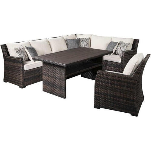 Easy Isle 4 Piece Sectional Set