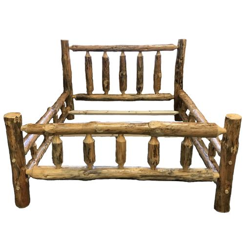 RRP152 King Log Bed