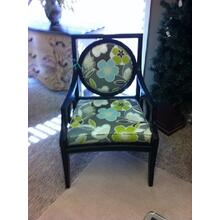 See Details - Upholstered Wood Frame Chair