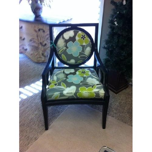Gallery - Upholstered Wood Frame Chair